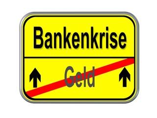 Geld -> Bankenkrise