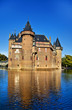 castle on water, Netherlands