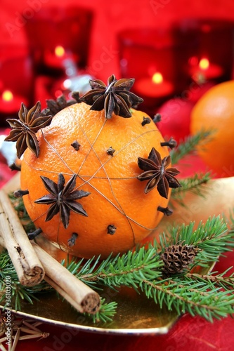 Weihnachtsaromen mit Orange - Christmas Scents w/ Orange