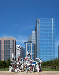 Downtown Houston Urban Landscape