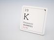 Potassium - element of the periodic table