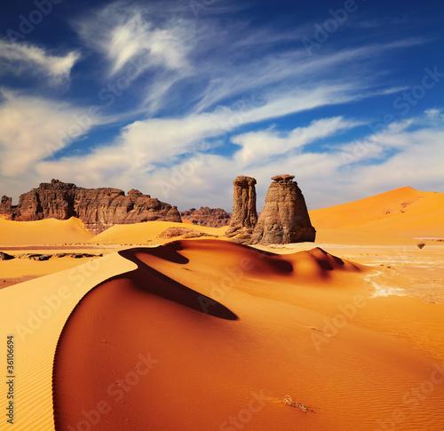 Poster Algerije Sahara Desert, Algeria