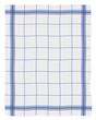 Torchon bleu et blanc
