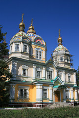 Russian cathedral  church