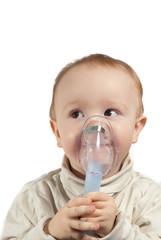 Kind Inhaliert