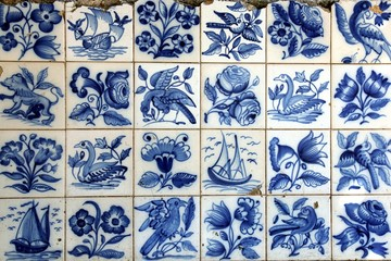 Old Azulejos in Lisbon