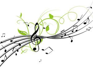音楽と植物