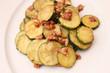 Zucchinis mit Speck
