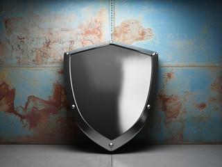 Illuminated steel shield