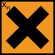 Gefahrstoffzeichen Gesundheitsschädliche Stoffe X