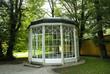 Leinwanddruck Bild - Summerhouse used in Sound of Music film in Salzburg Austria