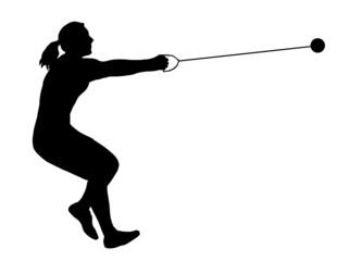 Ladies Hammer Thrower