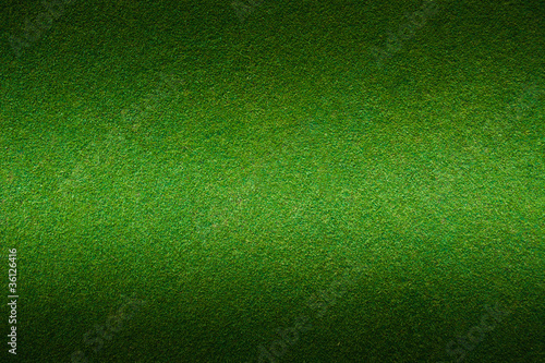 Artificial green grass background