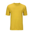 Yellow T-shirt template (isolated on white, clipping path)
