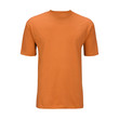 Orange T-shirt template (isolated on white, clipping path)