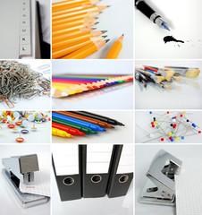 Büromaterialien