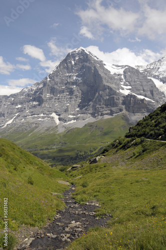 North Face of the Eiger above Kleine Scheidegg