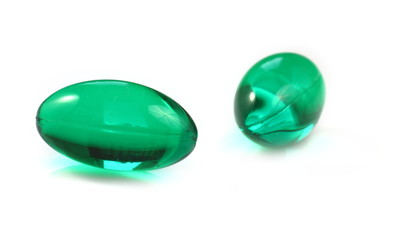 Two green Pills