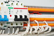 electrical fuseboxes and power lines switchers