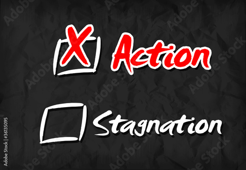 Action checkbox text symbol illustration