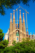 Sagrada Familia church in Barcelona - Spain