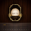 Golden Royal Labels | Elegant Presentation