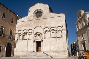Termoli (Campobasso, Molise, Italy) - Cathedral facade