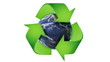 Recycle World, with Alpha Channel - HD1080