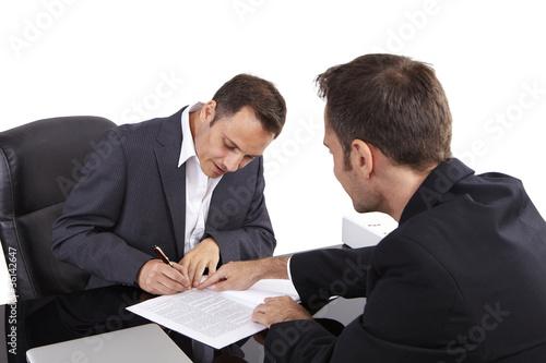 Business, Unterschrift 02