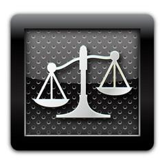Justice  metal icon