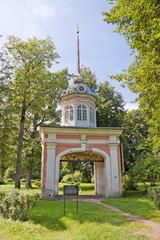 Peterstadt Fortress, Gate for Russian Emperor Peter III