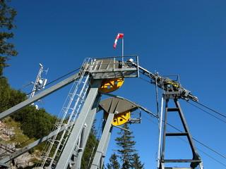 Bergstation der Herzogstandbahn auf dem Fahrenberg am Walchensee
