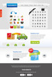 Website template + icon sets