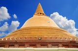 Prapathom chedi or First pagoda in Nakornpathom, Thailand. poster