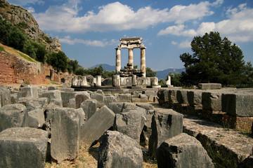 Ancient ruins of Delphi