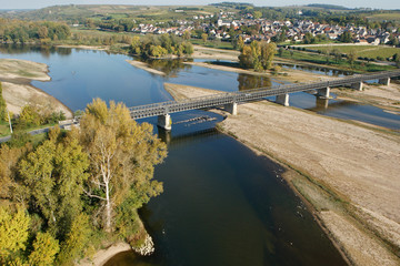 Pont de Pouilly-sur-Loire vue du ciel 58