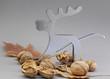 Nußknacker und Nüsse