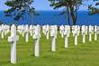 American War Cemetery near Omaha Beach, Normandy (Colleville-sur