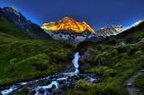 Fototapeta rzeka - pejzaż - Wysokie Góry