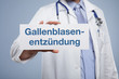 Gallenblasenentzündung