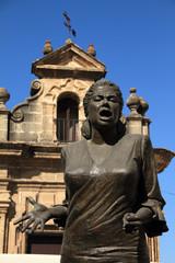 La Paquera, cantaora flamenca