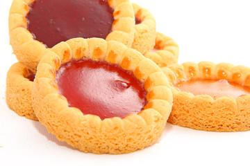Biscuits gelée de fruits