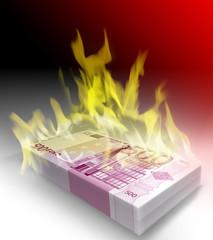 euro fiamme