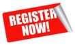 red sticker - register now!
