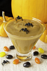 Spooky Halloween Pudding