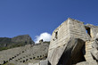Ancient Inca Sun Temple on Machu Picchu