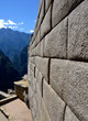 Inca Wall - Side of a Temple on Machu Picchu