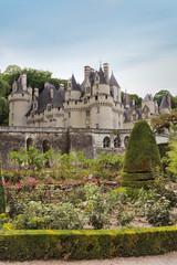 Chateau d'Usse, France, castle