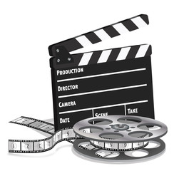 Film clap & reel