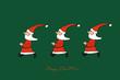 Die Weihnachtsmänner sind unterwegs